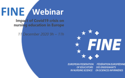"FINE Europe Webinar : ""Impact of Covid19 crisis on nursing education in Europe"" – Conclusions"